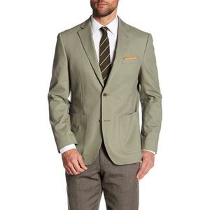 Flynt Olive Green Bueller Two Button Sportcoat 46L